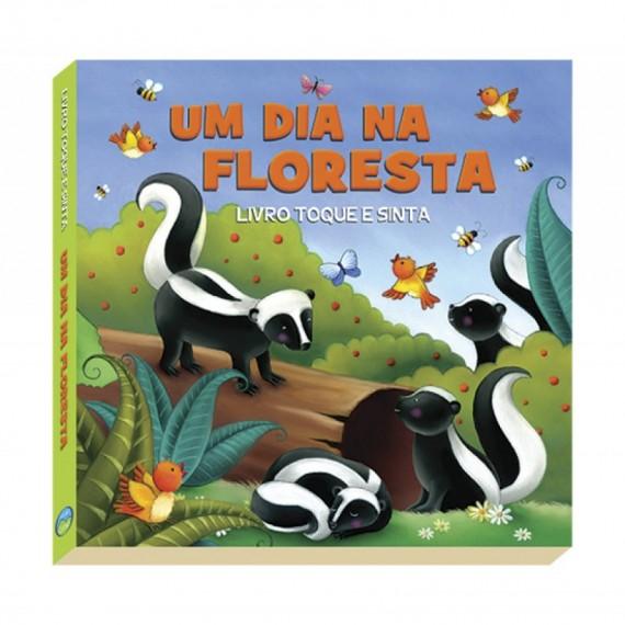 Um dia na Floresta - Livro Infantil  (toque e sinta)