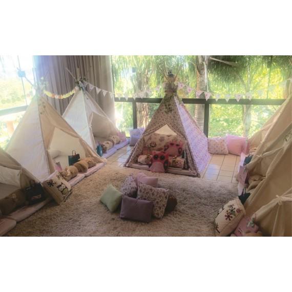 Tenda - Cabana Bege Listrada