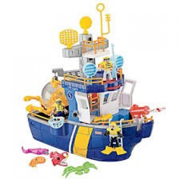 Super Navio Aventura - Imaginext