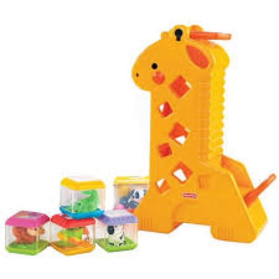 Girafa com Blocos