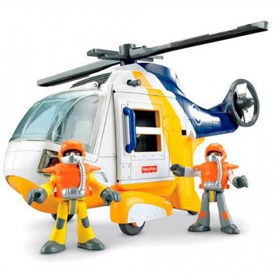 Helicóptero Aventura - Imaginext