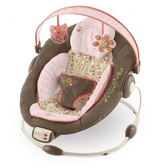 Cadeira de Descanso Rosa - Musical e Vibração