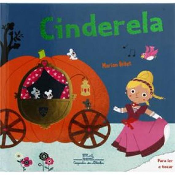 Cinderela - Livro infantil (Toque e Sinta)
