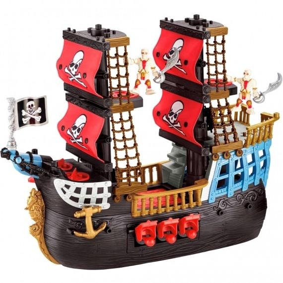 Navio Pirata Pesadelo do Mar - Imaginext