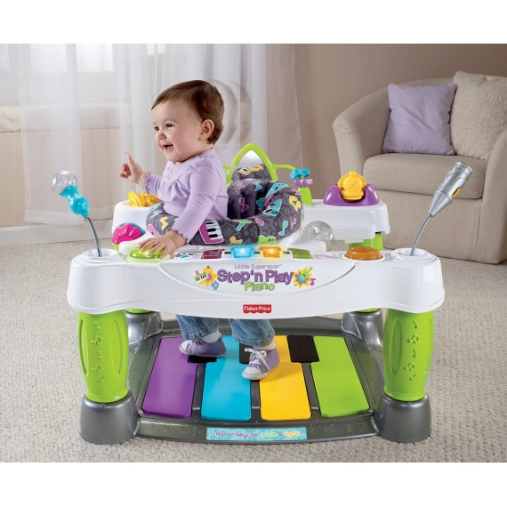 Jumperoo Little Superstar Step and Play Piano